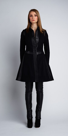 Rosalind Wool/Lamb Coat
